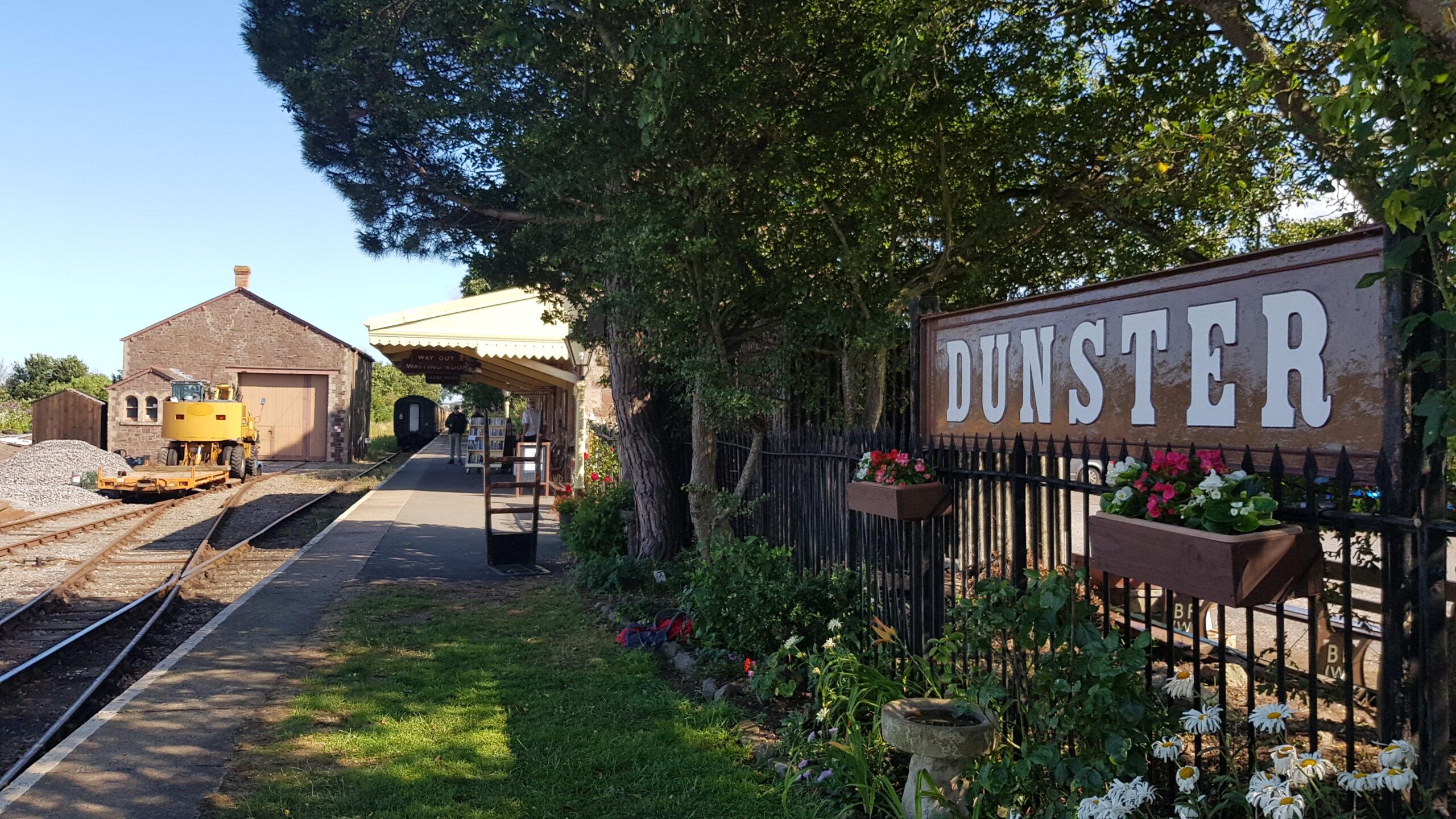 Dunster Railway Station