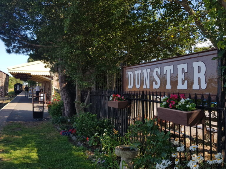 The History of Dunster Station and the West Somerset Railway